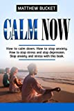 Calm Now: How to stop anxiety, stop stress and stop depression. Stop anxiety and stress now with this book