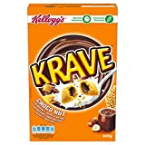 Kellogg's Cereales Krave Choco and Nuts - Paquete de 6 x 600 gr - Total: 3600 gr