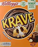 Kellogg's Cereales Krave Choco and Nuts - 12 Paquetes de 375 gr - Total: 4500 gr
