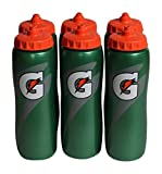 Gatorade 32 Oz Squeeze Water Sports Bottle - Value Pack of 6 - New Easy Grip Design for 2014 by Gatorade