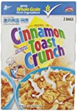 General Mills Toast Crunch Cereal, Cinnamon, 49.5 Ounce